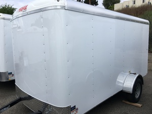 2018 Mirage 6X12 Enclosed Trailer - Barn Doors