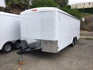 2018 Mirage 8.5X20 Car Carrier Enclosed Trai