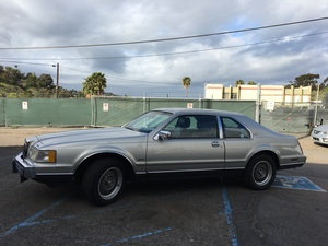 1988 Lincoln Mark VII 2dr Coupe LSC