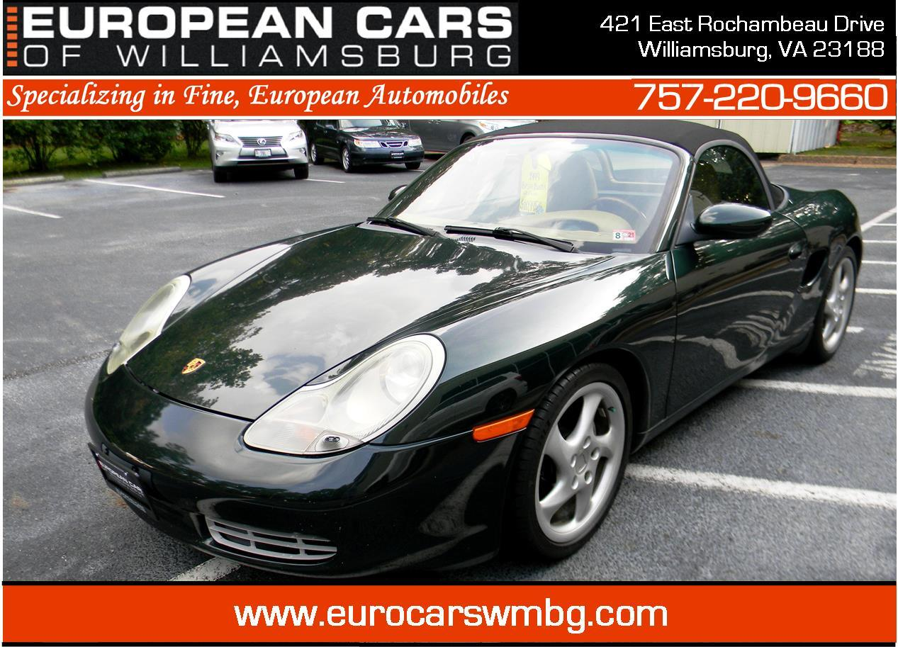 Buy 1999 Porsche Boxster Williamsburg Virginia European Cars Of Williamsburg
