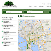 Tampa Tree Map