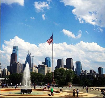 Photo of Philadelphia's Art Museum Area