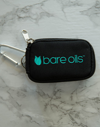 Bare Oils Mini Soft Case Keychain - 8 Vials (2ml)