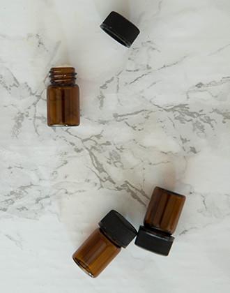 10-Pack Glass Vials (5/8 dram)