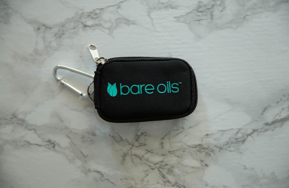 Bare Oils Mini Soft Case Keychain - 8 Vials (2ml)