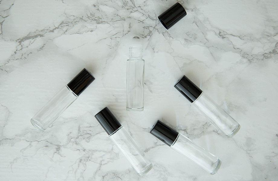 6-Pack Roll On Bottles (10 ml Glass Bottle)
