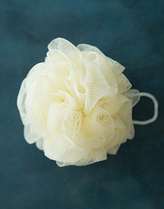 Body Loofah (cream color)