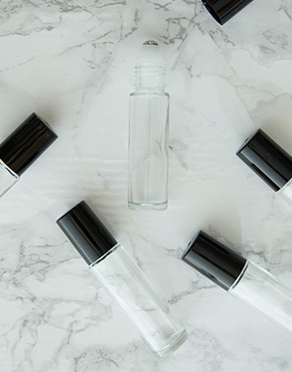 6-Pack Roll On Bottles (10 ml Glass Bottle)