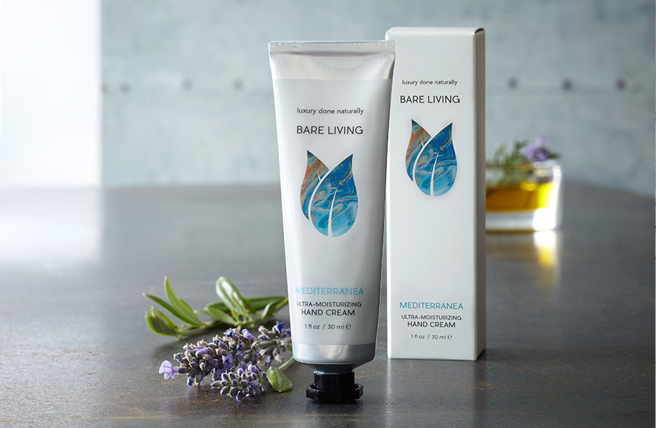 Bare Living Hand Cream - Mediterranea
