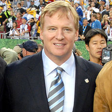 397px roger goodell at super bowl 43