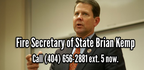 Image result for photos of Secretary of State Brian Kemp