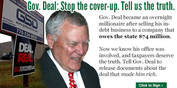 Nathan Deal cover-up