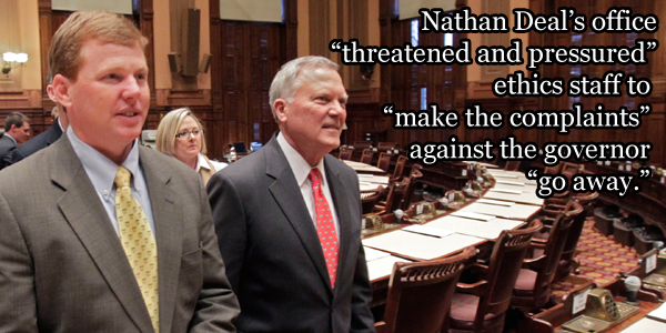 Chris Riley, Nathan Deal
