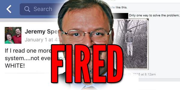 Jeremy Spencer fired