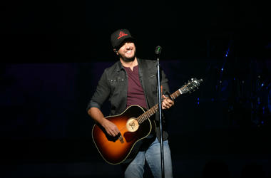 Luke Bryan at Hammerstein Ballroom on December 3, 2018