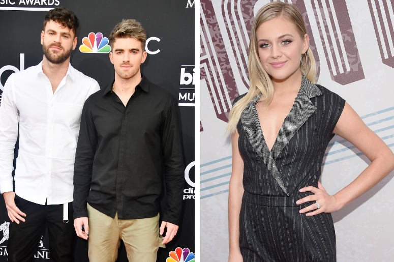 "The Chainsmokers & Kelsea Ballerini release new crossover collaboration, ""This Feeling."""
