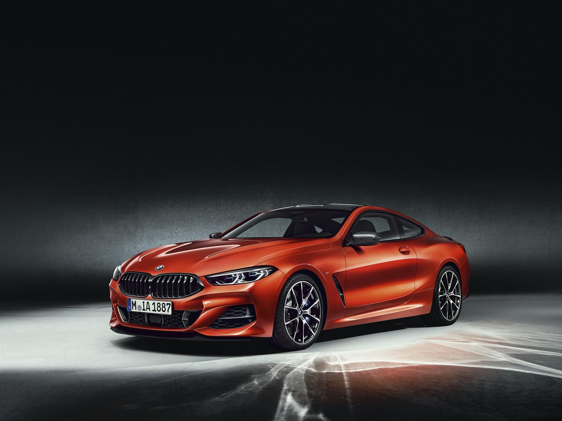 BMW m850i monterey car week