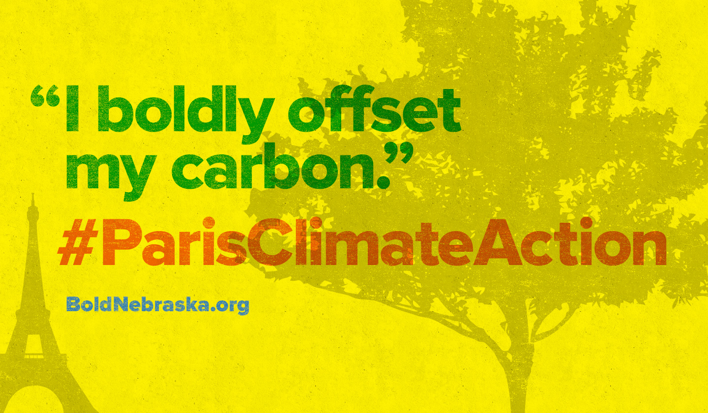 #NOKXL PARIS CARBON OFFSET