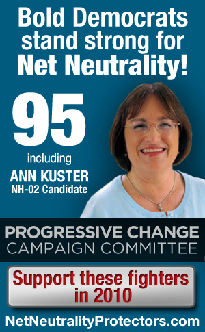100 candidates for Net Neutrality