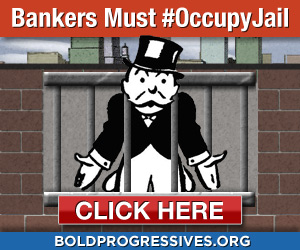 Bankers should go to jail -- Sign the statement
