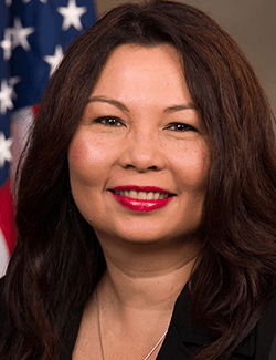 Turn on images to see Tammy Duckworth.