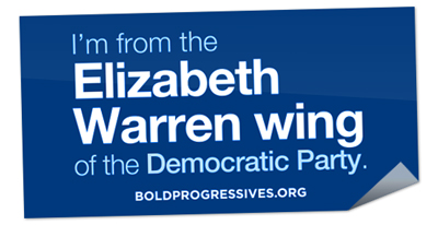 Free Progressive Change Campaign Committee sticker