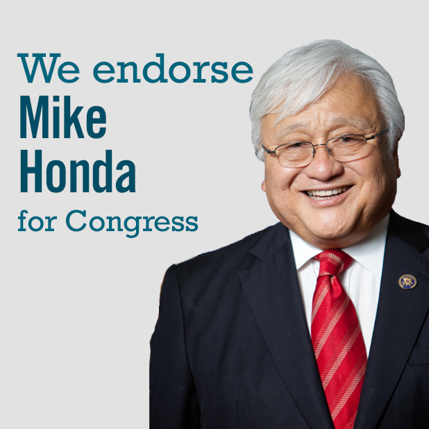 Superb Sign Up To Endorse Mike Honda For Congress | Progressive Change Campaign  Committee (PCCC)