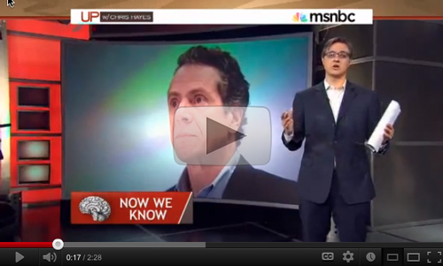 Great video! Chris Hayes holds Cuomo accountable
