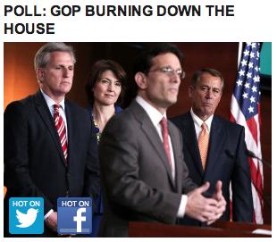 Huff Post headline