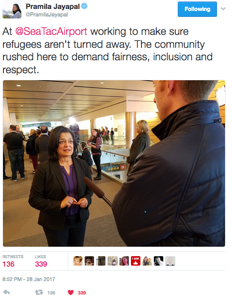 Turn on images to see Pramila Jayapal