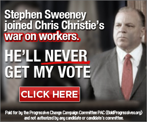 Sweeney war on workers