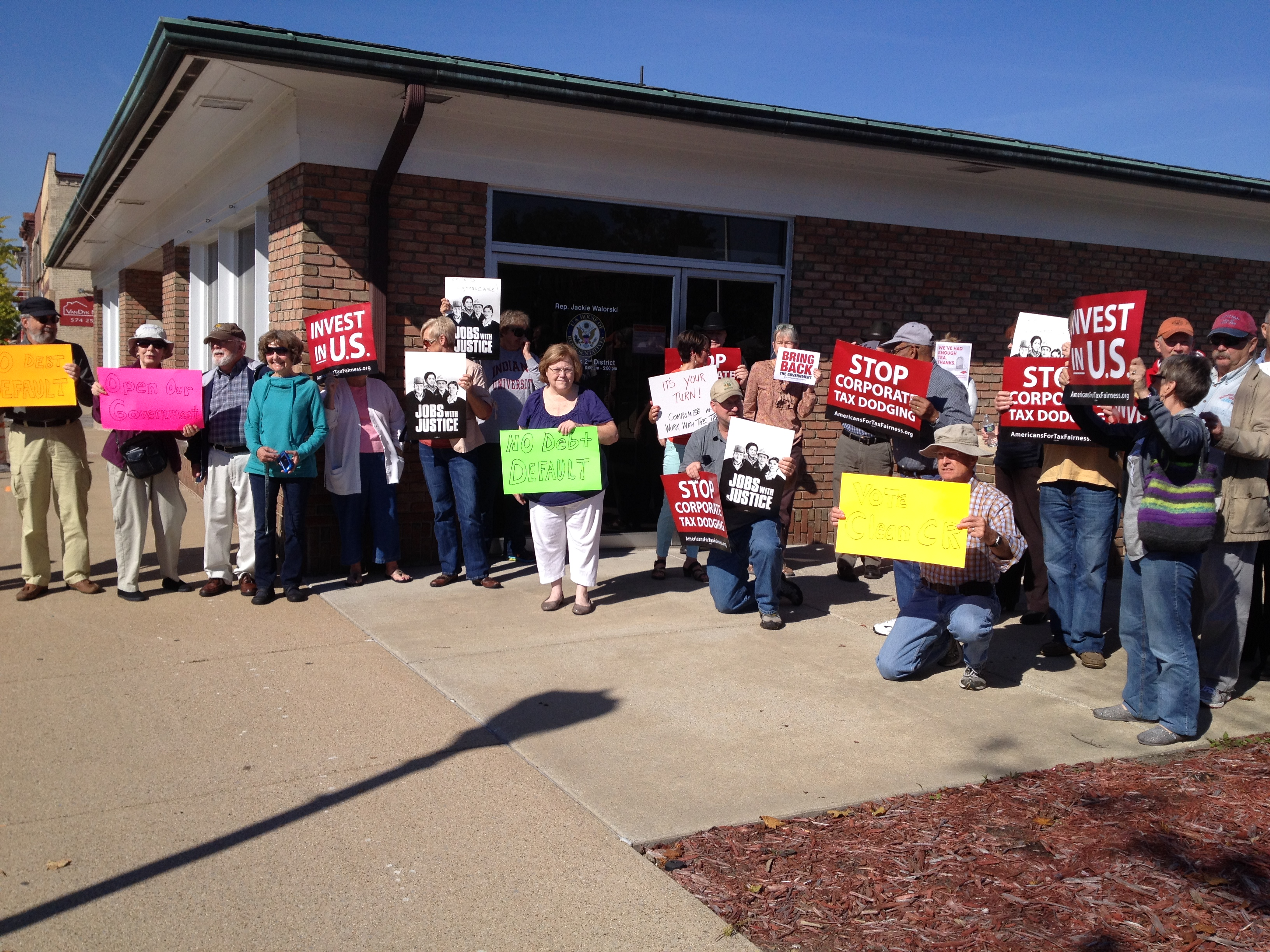 Photo: Big local rally hold Republican accountable