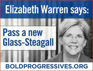PETITION TO CONGRESS: Pass Elizabeth Warren's Glass-Steagall Bill