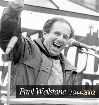 Enable Images! See a great picture of Paul Wellstone!