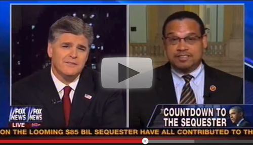 WATCH: Keith Ellison vs. Sean Hannity