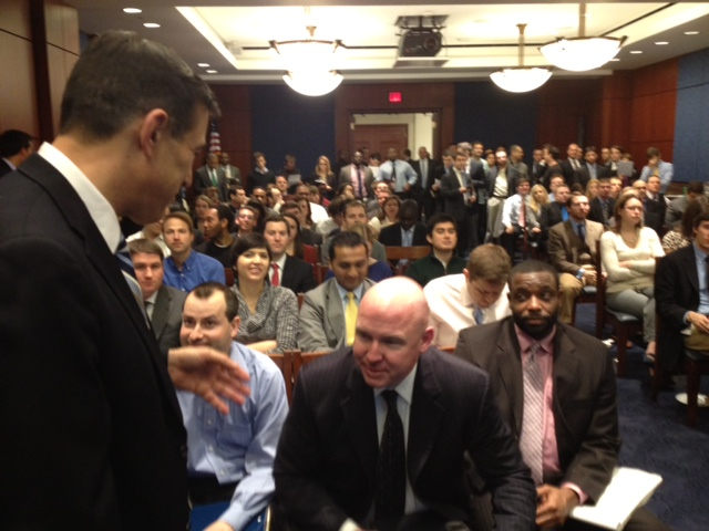 Our congressional briefing