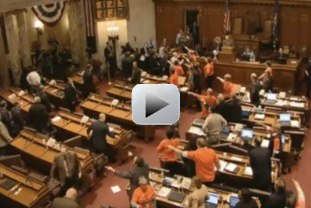 VIDEO: Wisconsin abuse of power