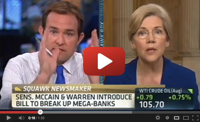 Warren vs. CNBC