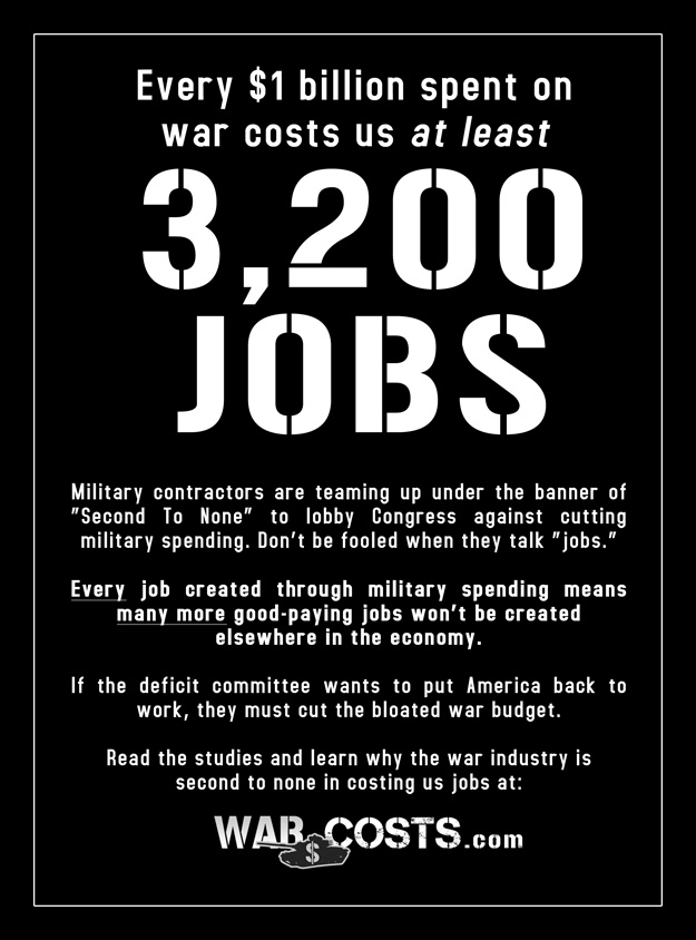 War Costs Politico ad