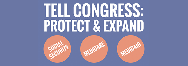 To celebrate the 50th anniversaries of Medicare and Medicaid and the 80th anniversary of Social Security, let's strengthen these cornerstone supports for the future.