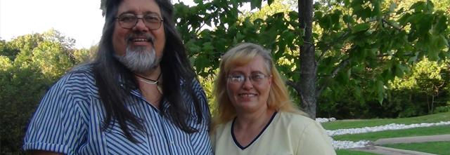 Karen Harlan and Michael Richards