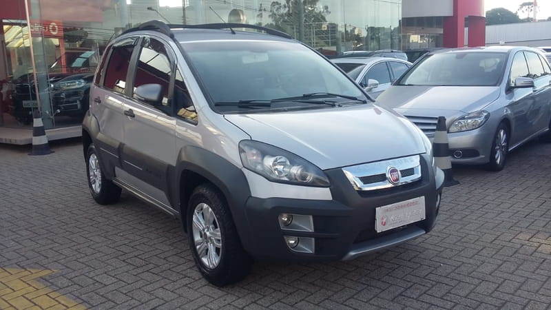 FIAT IDEA ADVENTURE 1.8 8v(Flex) 4p