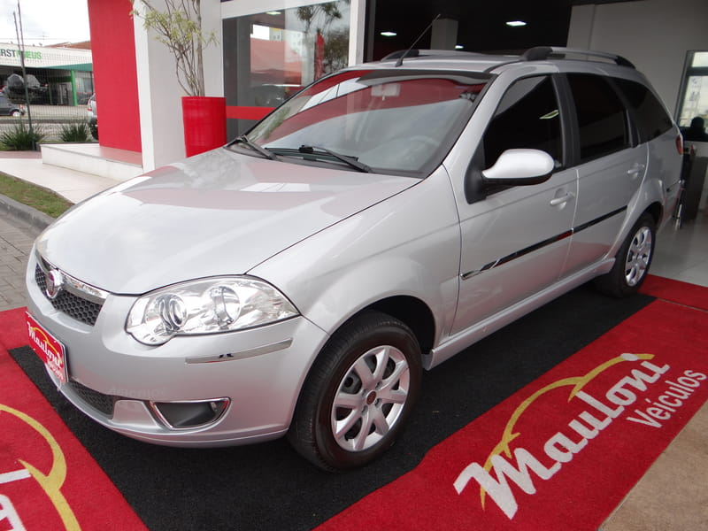 FIAT PALIO WEEKEND ATTRACTIVE 1.4 FLEX MEC.