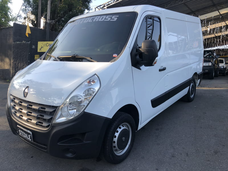 RENAULT MASTER 2.3 FURGAO L1H1 16V TURBO INTERCOOLER DIESEL 4P MANUAL