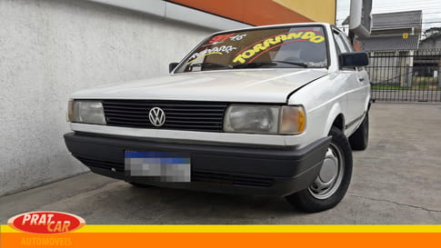 1992 volkswagen gol cl 1.6 mi  2p