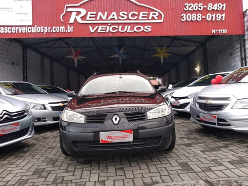 RENAULT MEGANE GRAND TOUR EXPRESSION 1.6 16v(Hi-Flex) 4p