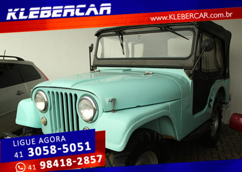 1957 jeep willys overland