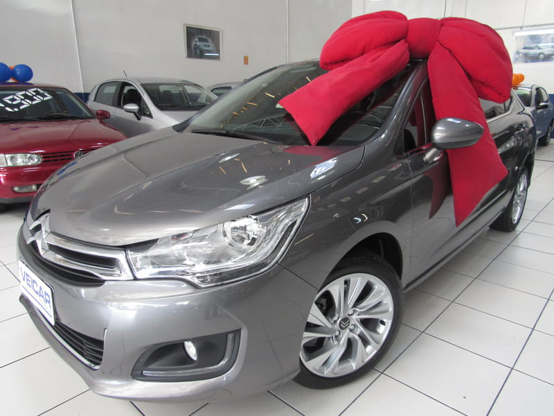 CITROEN C4 LOUNGE 1.6 TENDANCE 16V TURBO FLEX 4P AUTOMATICO
