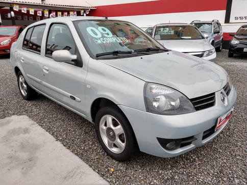 2009 renault clio sedan privilege 1.0 16v 4p