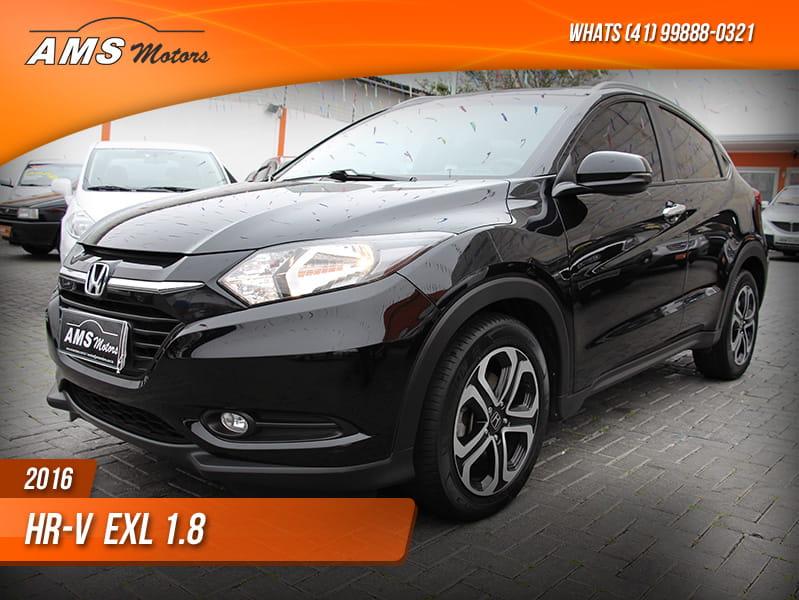 HONDA HR-V EXL 1.8 16V SOHC I-VTEC FLEXONE AUT.